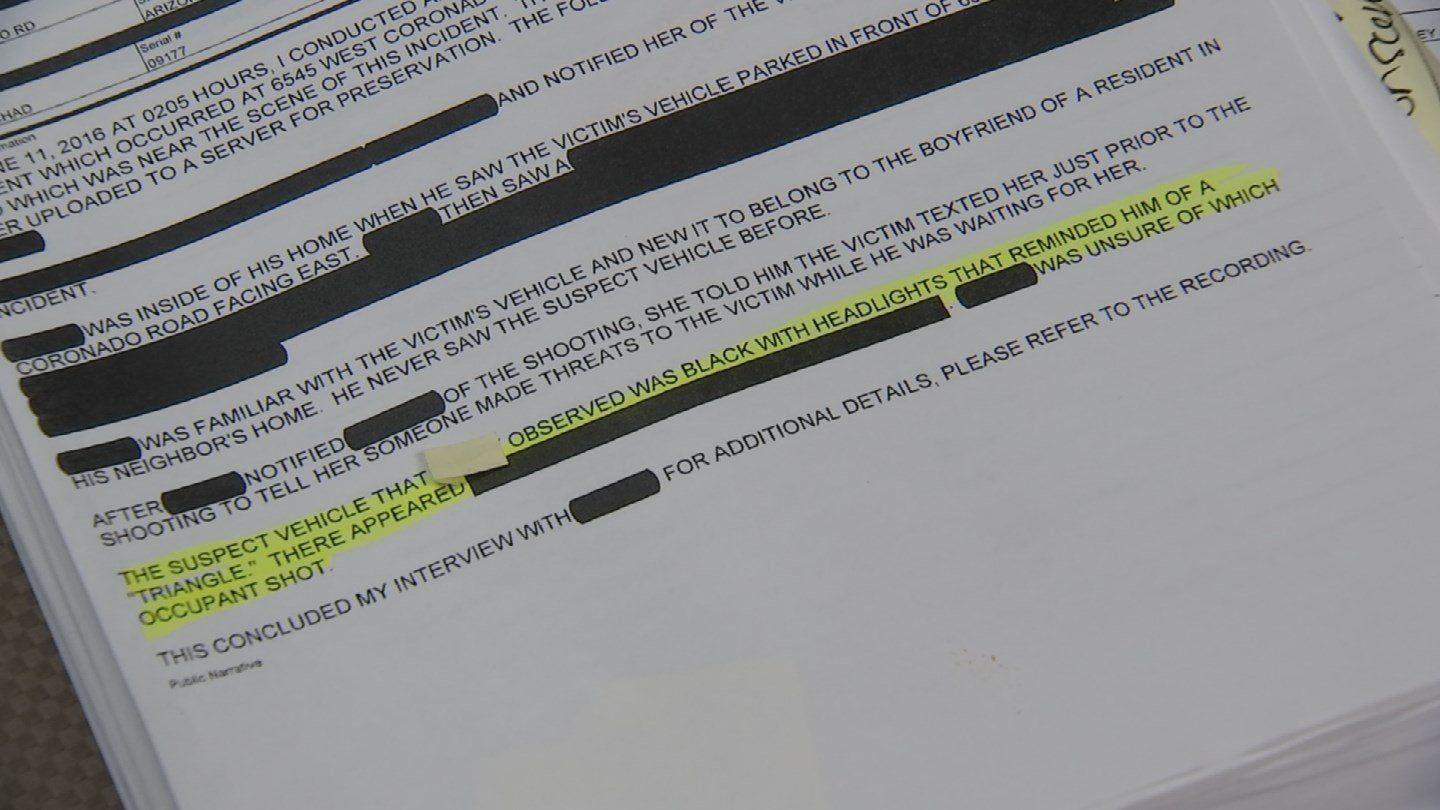 Police redacted reports released Monday reveal new details about the murder of Castro Garcia. (Source: KPHO/KTVK)