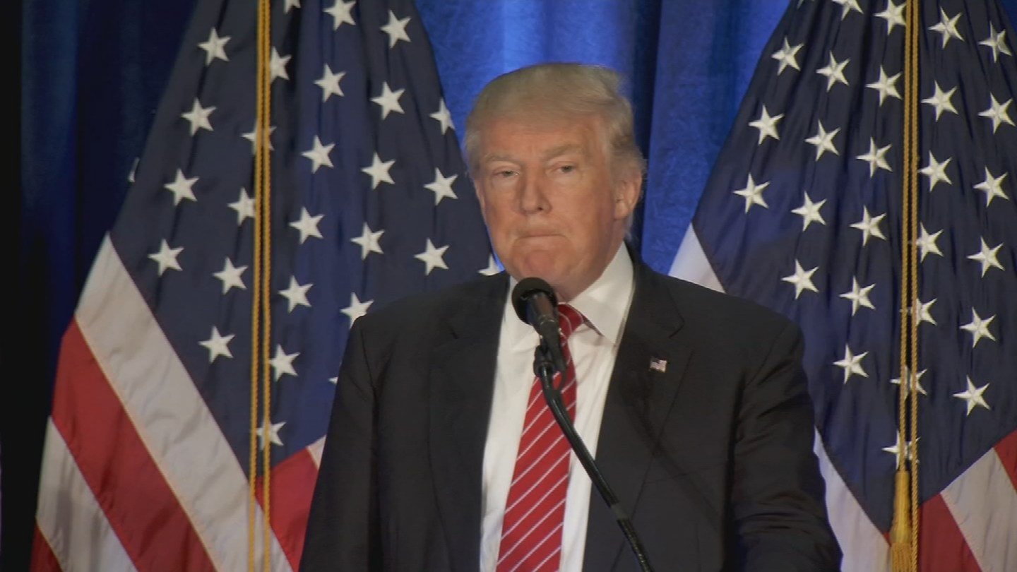 Trump may be softening his hard-line stance on immigration. (Source: KPHO/KTVK)