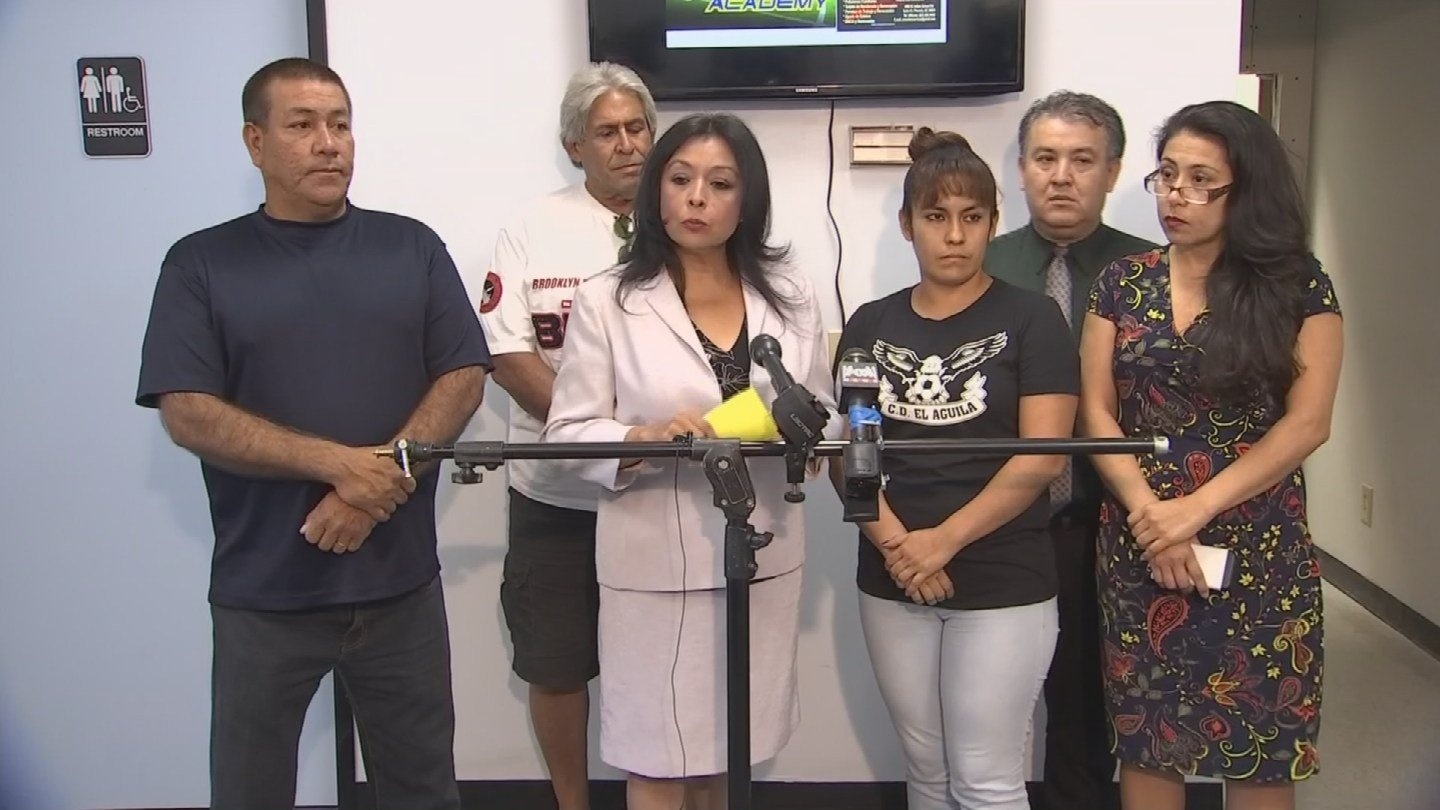 A group called Somos Independents, an organization led by Mexican-American women, hosted a news conference Friday afternoon to explain how they are contributing to the Phoenix serial shooter investigation. (Source: KPHO/KTVK)