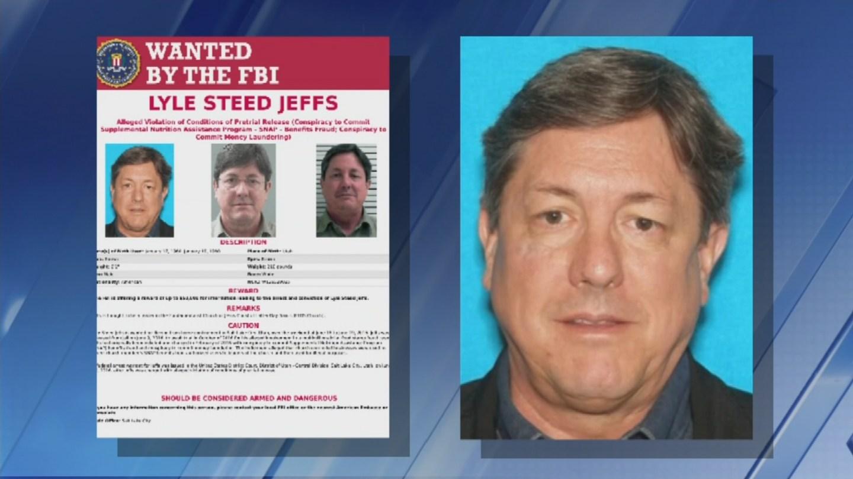 A $50,000 reward is being offered for Lyle Jeffs. (Source: FBI)