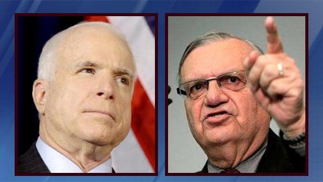 McCain challenge, sheriff's latest bid top Arizona primary
