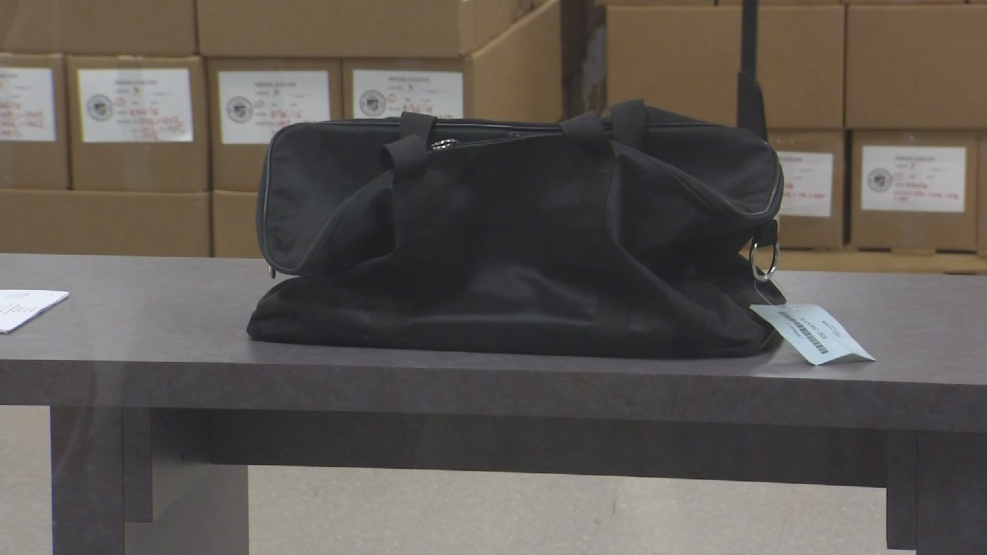 A ballot bag was accidentally left behind overnight in a West Valley polling center. (Source: KPHO/KTVK)