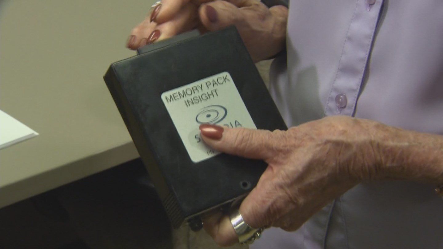 All the voting data from every election is placed on a memory pack. (Source: KPHO/KTVK)