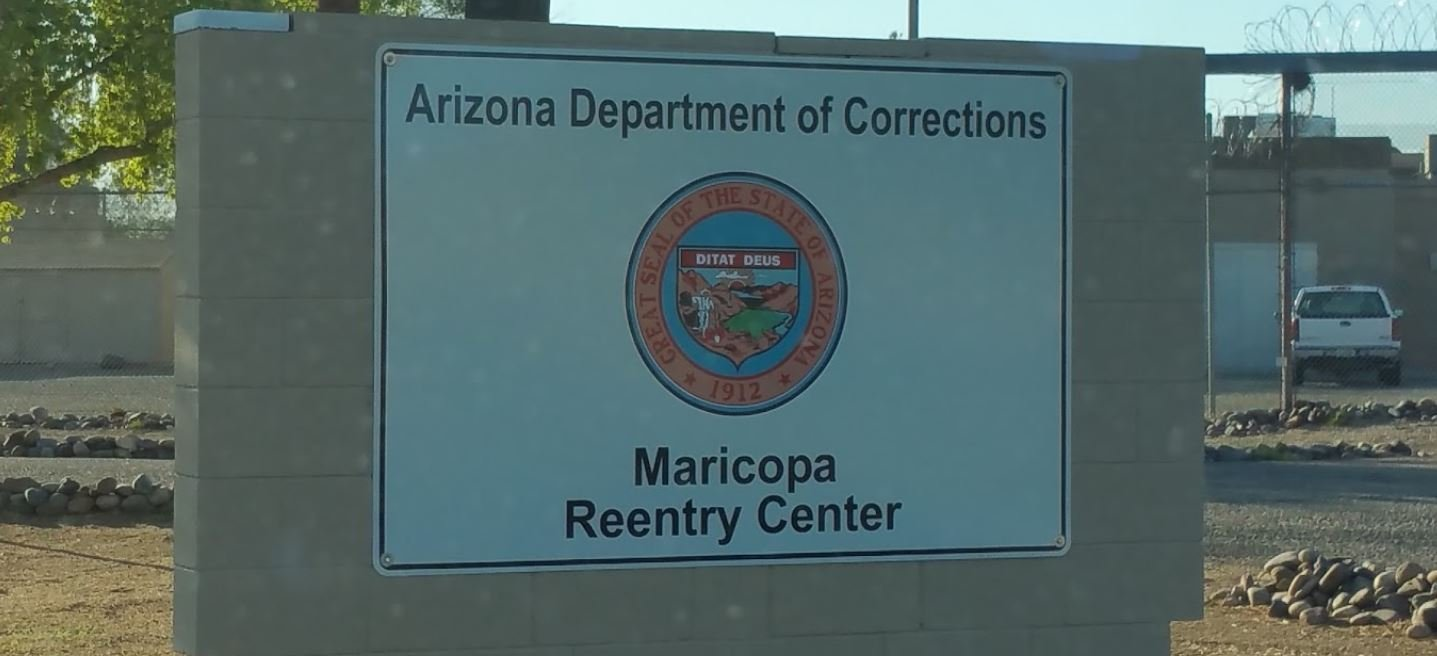 The new Maricopa Reentry Center opened a few weeks ago near Interstate 17 and Happy Valley Road.  The MCRC is a transitional facility for released prison inmates. (Source: Google Maps)