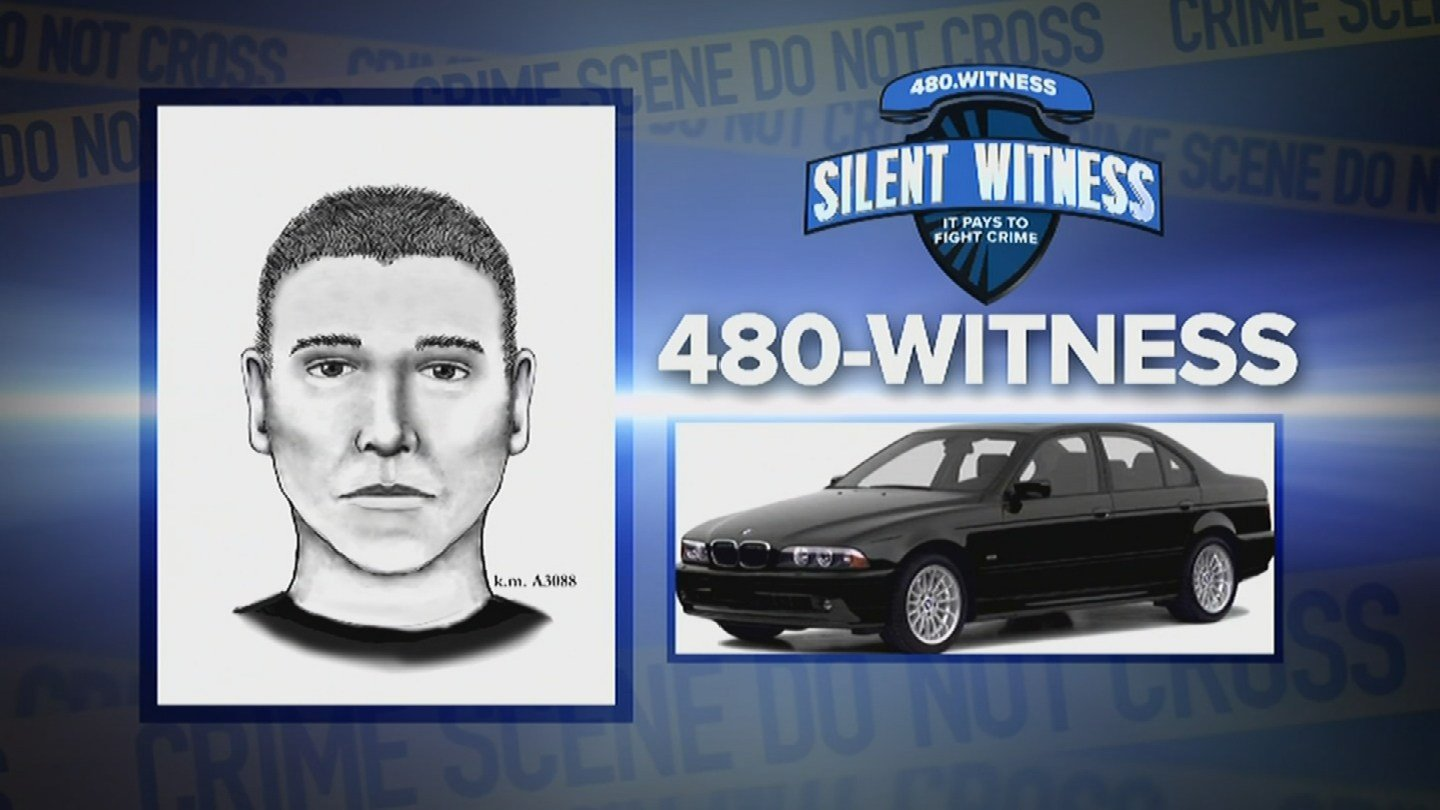 Police are depending on the community to help them solve these crimes. They have been blanketing the media and social websites with two composite sketches as described to them by two different witnesses from two separate incidents. (Source: KPHO/KTVK)