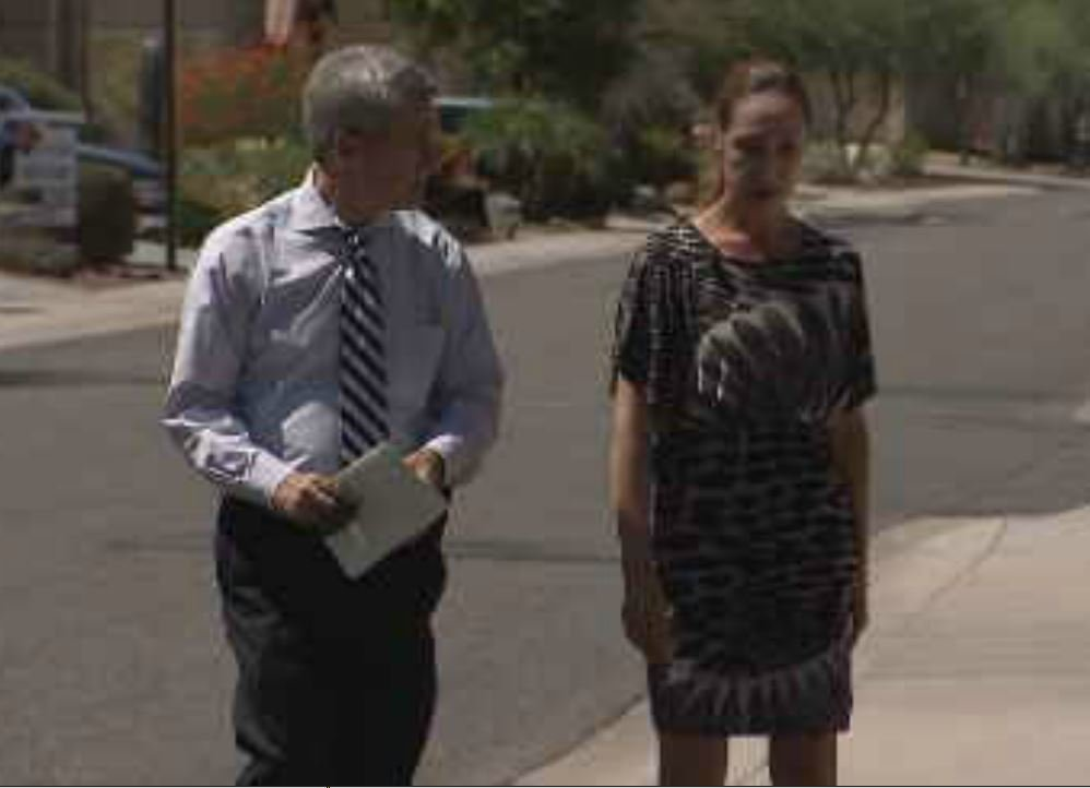 Susan Hoffland is one of many North Phoenix homeowners upset about new AZ DOC Reentry Center. (Source: KPHO/KTVK)