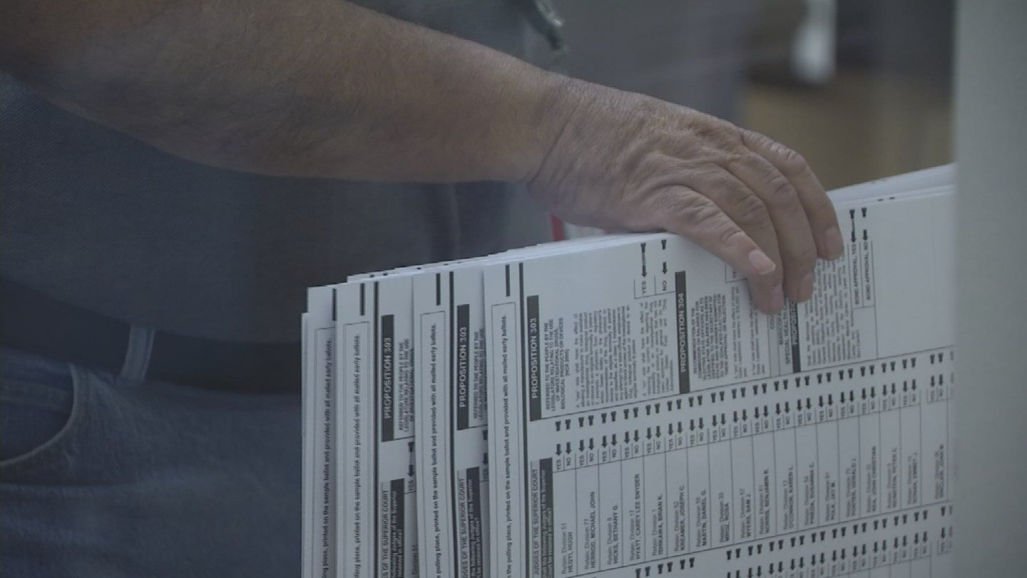 Arizona Secretary of State Michele Reagan wants the federal government to help more with security voting data bases in the state. (Source: KPHO/KTVK)