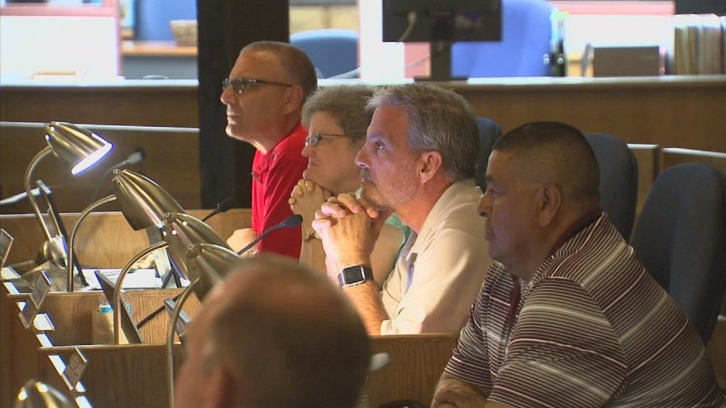 The school board said it is working on several new programs to teach staff and students more about respect and tolerance for everyone. (Source: KPHO/KTVK)