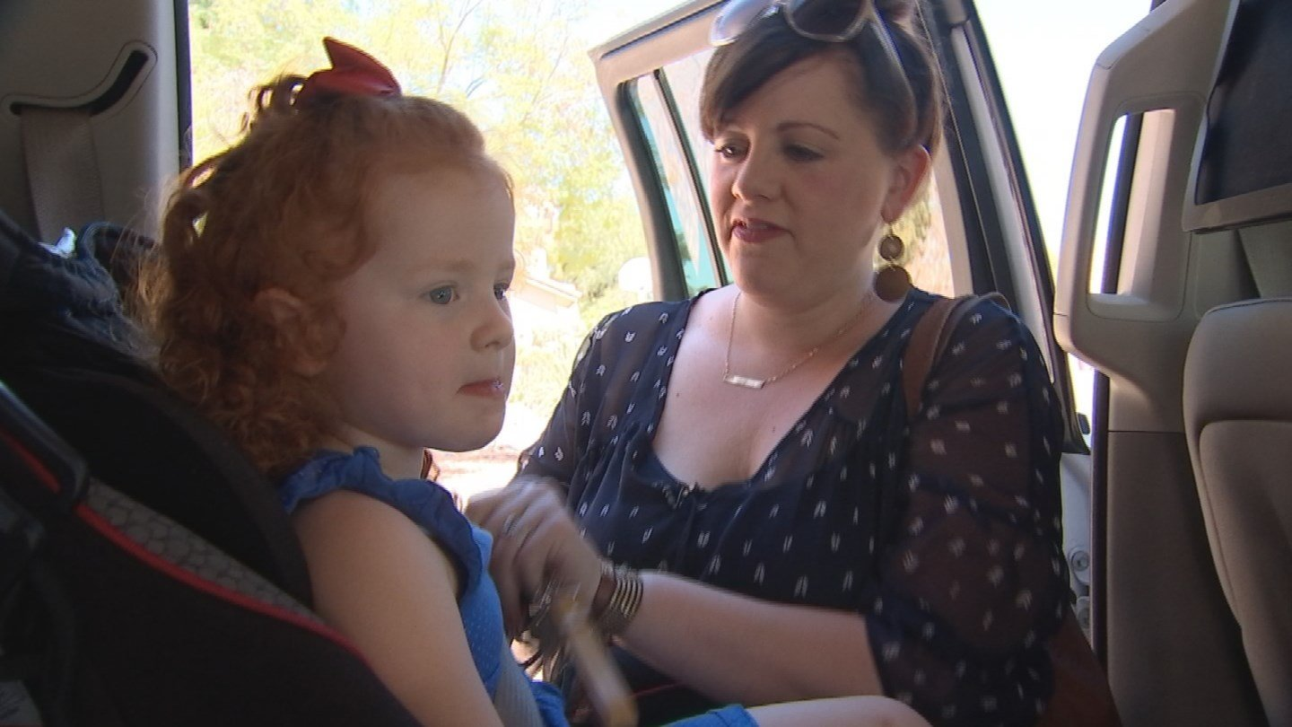 Scottsdale mom Michelle Fortin called police on her 3-year old daughter, Camille (Source: KPHO/KTVK)