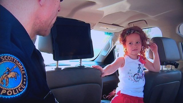 Scottsdale mom Michelle Fortin called police on her 3-year old daughter, Camille (Source: Michelle Fortin)