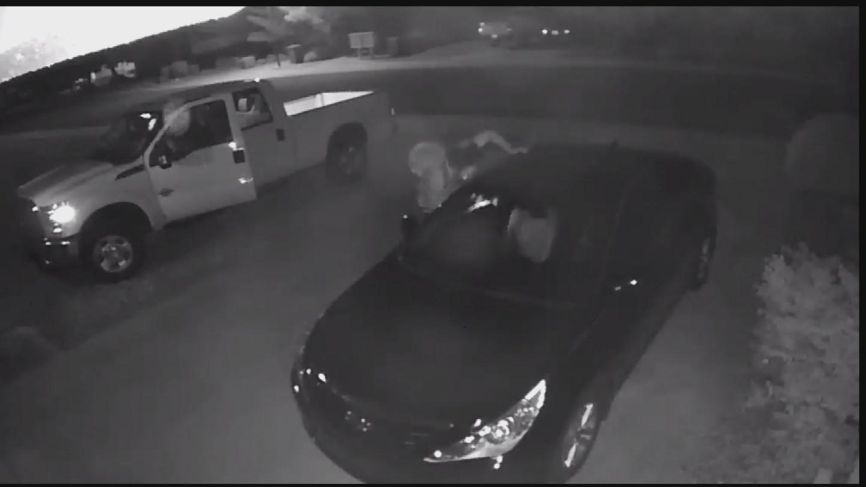 Loren Chelsey released surveillance video of suspect's stealing his car in Queen Creek. (Source: KPHO/KTVK)