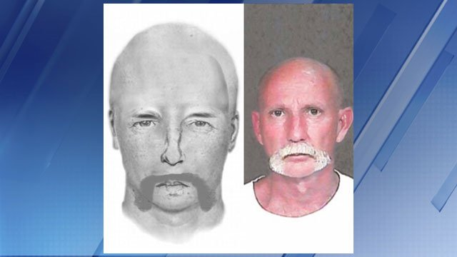 Jeffrey Charles Wilson was arrested after police released a composite sketch. (Source: Glendale Police Department)