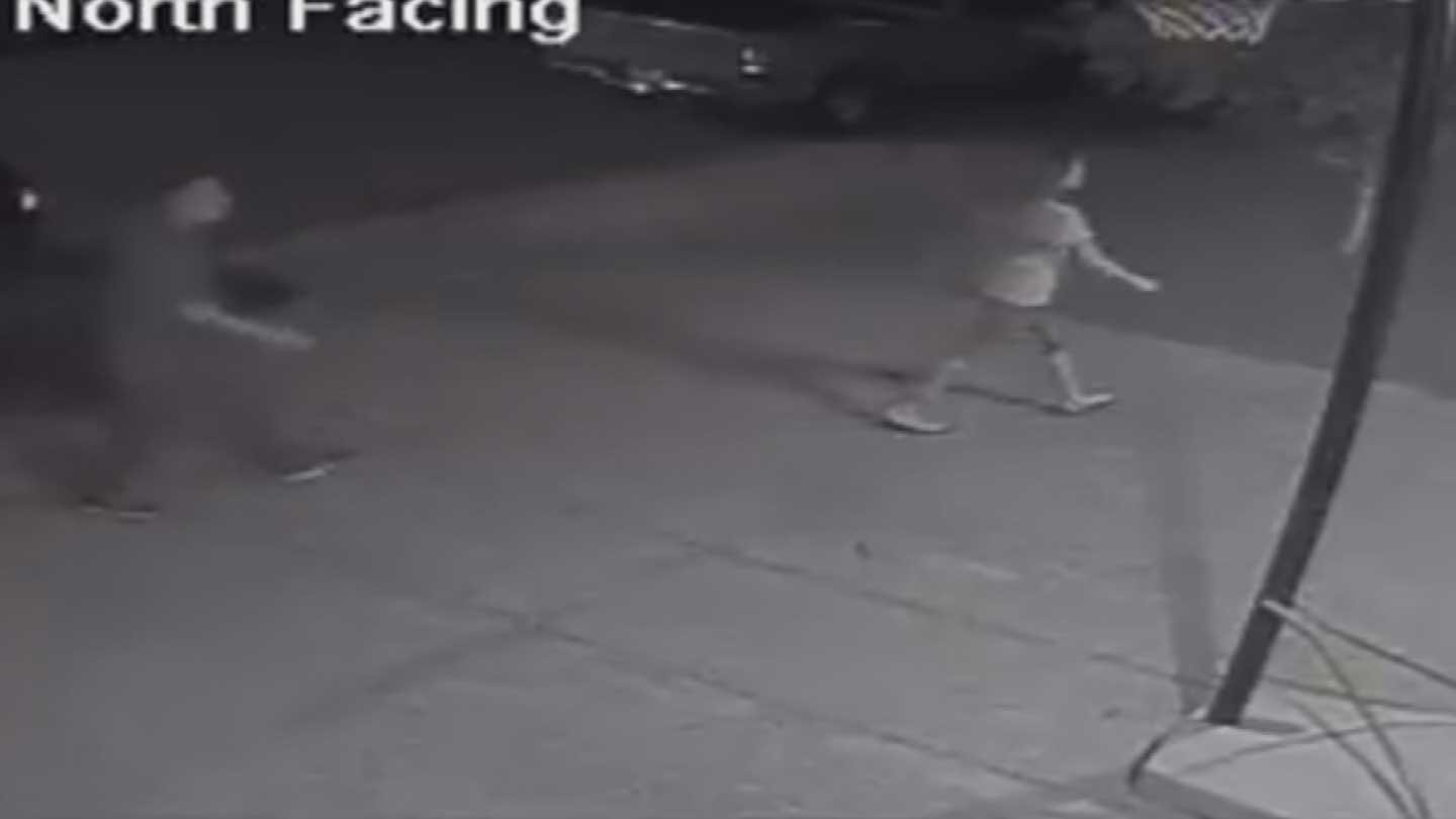 Thieves have been stealing patio furniture in central Phoenix. (Source: Homeowner's surveillance video)