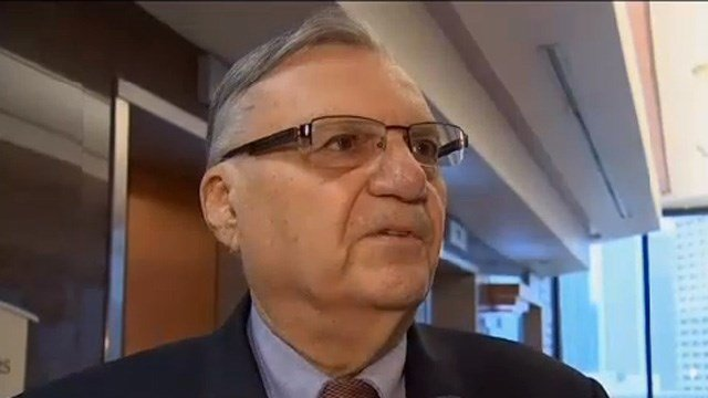 Maricopa County Sheriff Joe Arpaio. (Source: KPHO/KTVK)