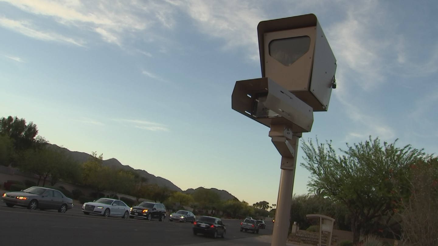 Cameras like this are used around the Valley for photo traffic enforcement. (Source: KPHO/KTVK)