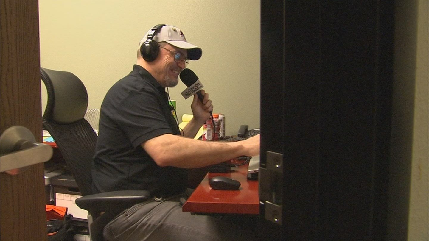 Cannabisradio.com is looking to have a more serious tone for marijuana topics. (Source: KPHO/KTVK)
