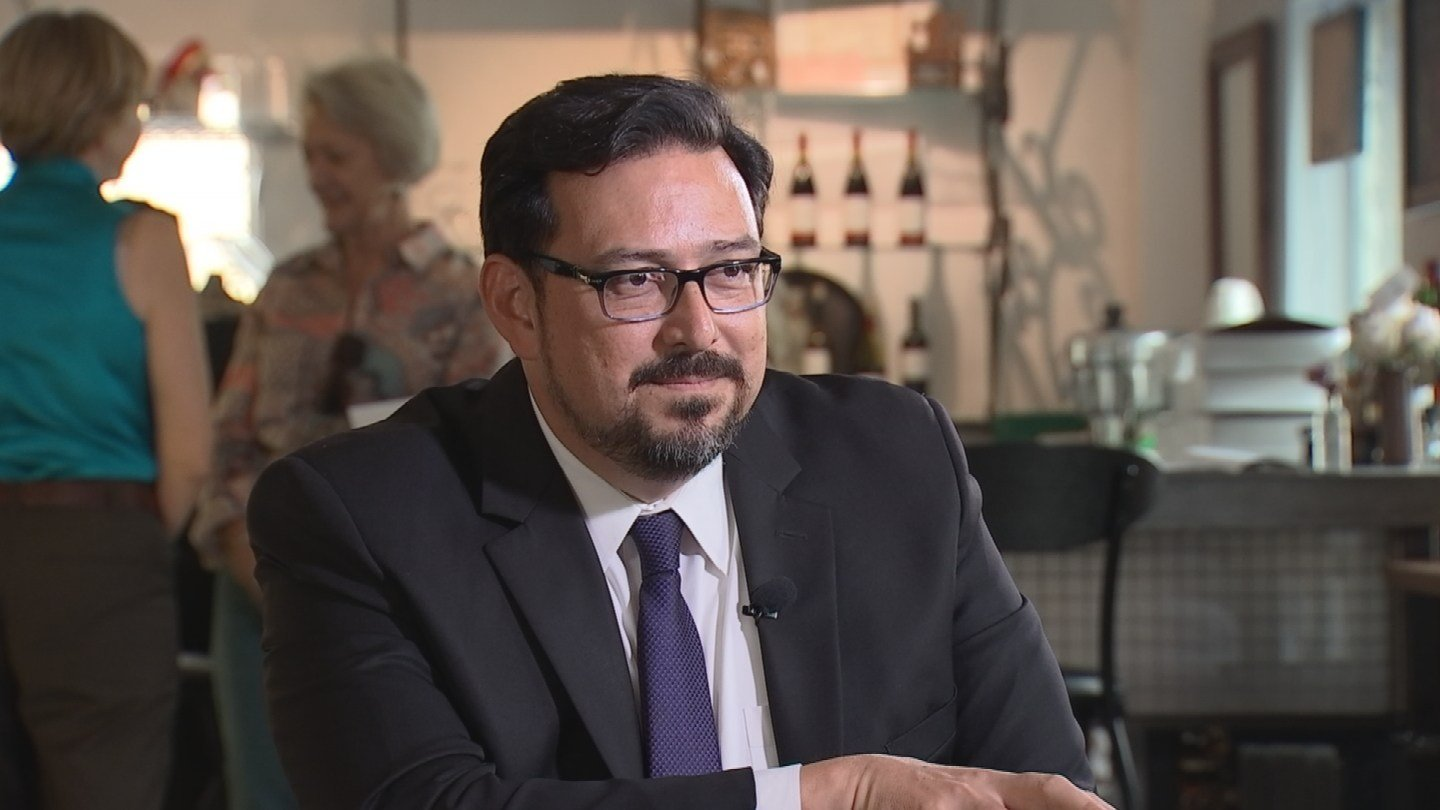 Incoming Maricopa County Recorder Adrian Fontes. (Source: KPHO/kTVK)