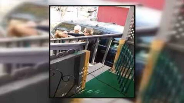 Video shows Arizona cop punching woman in face