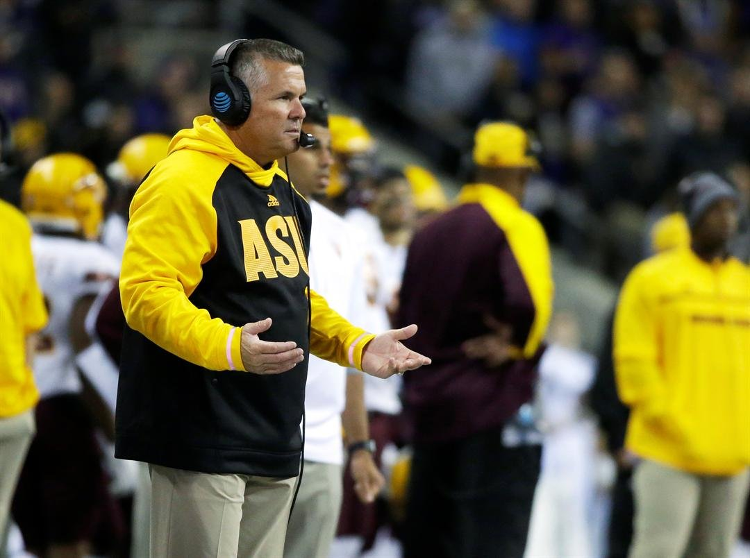 ASU head coach Todd Graham (AP Photo/Ted S. Warren)