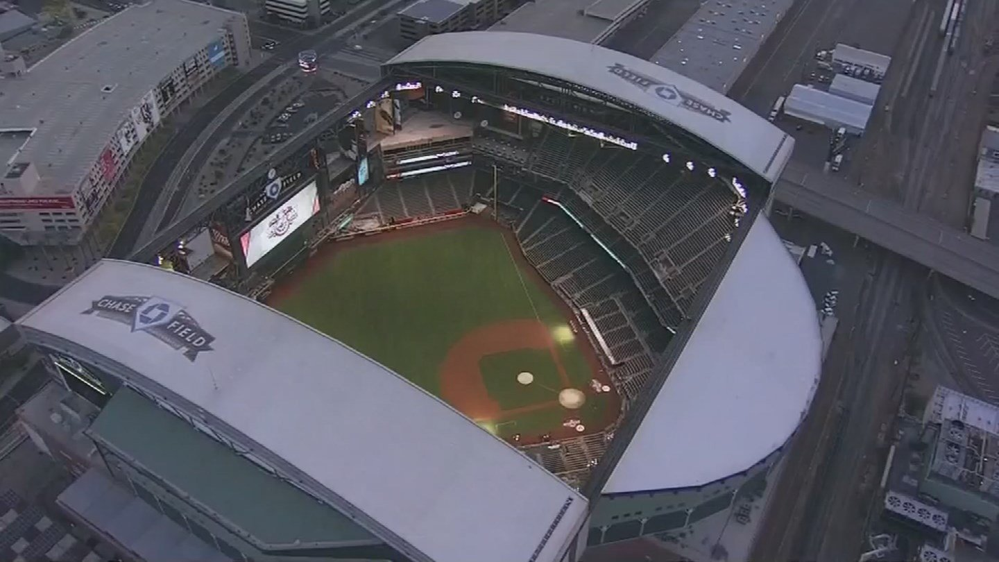 Chase Field. (Source: KPHO/KTVK)