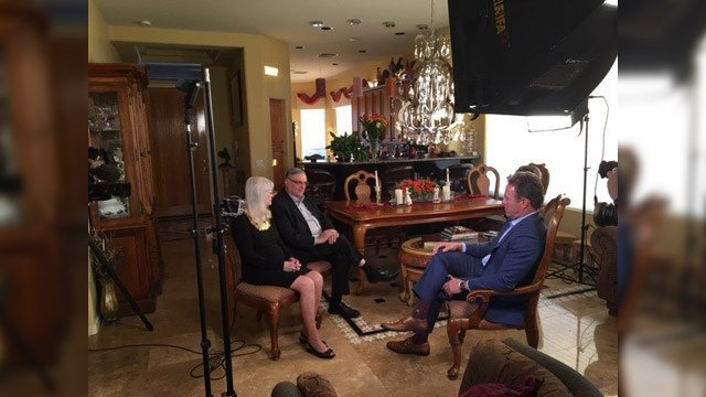 In an hourlong interview, Sheriff Joe Arpaio and his wife, Ava, sat down with 3TV's Scott Pasmore to discuss his career and their future together.  (Source: Jason Berry, KPHO/KTVK)