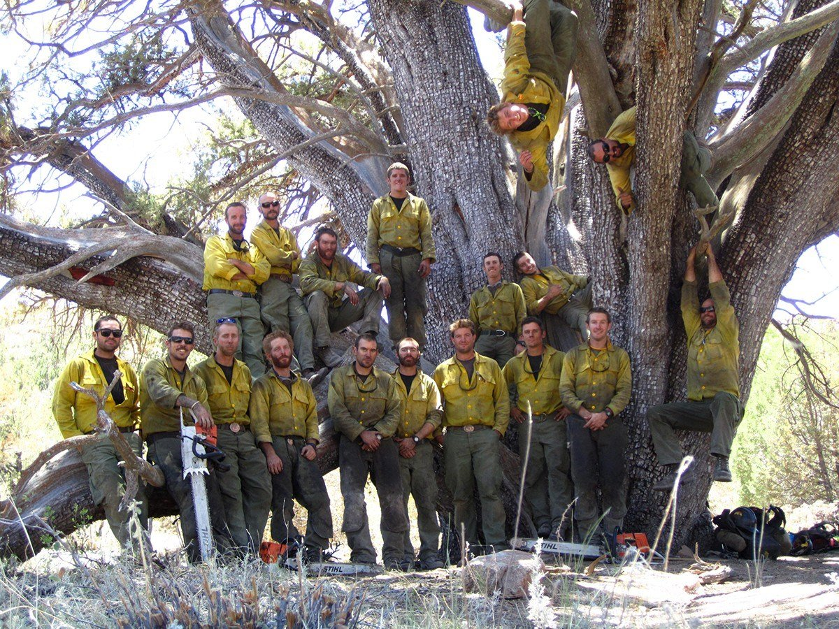 The members of the elite firefighting team were killed battling one of the state's most devastating wildfires on June 30, 2013.  (Source: Arizona State Parks)