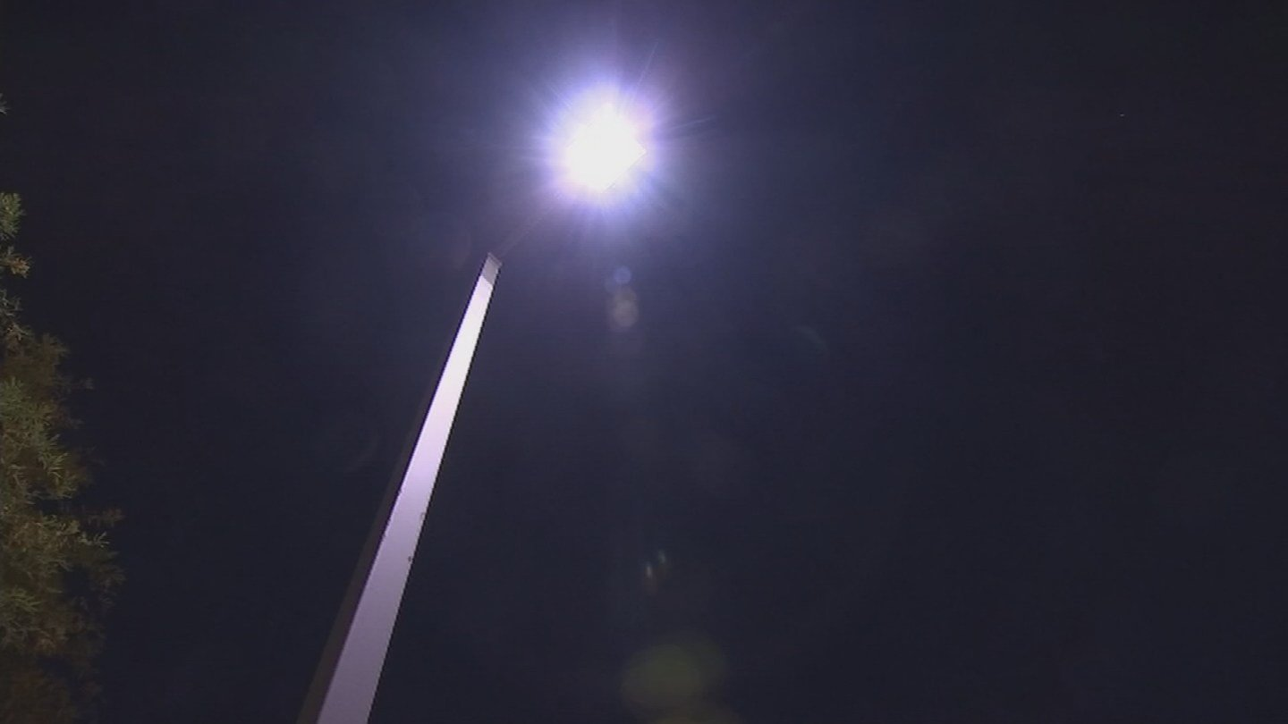 Some Phoenix residents said the current LED lights were too harsh and should be swapped for warmer, softer lights. (Source: KPHO/KTVK)