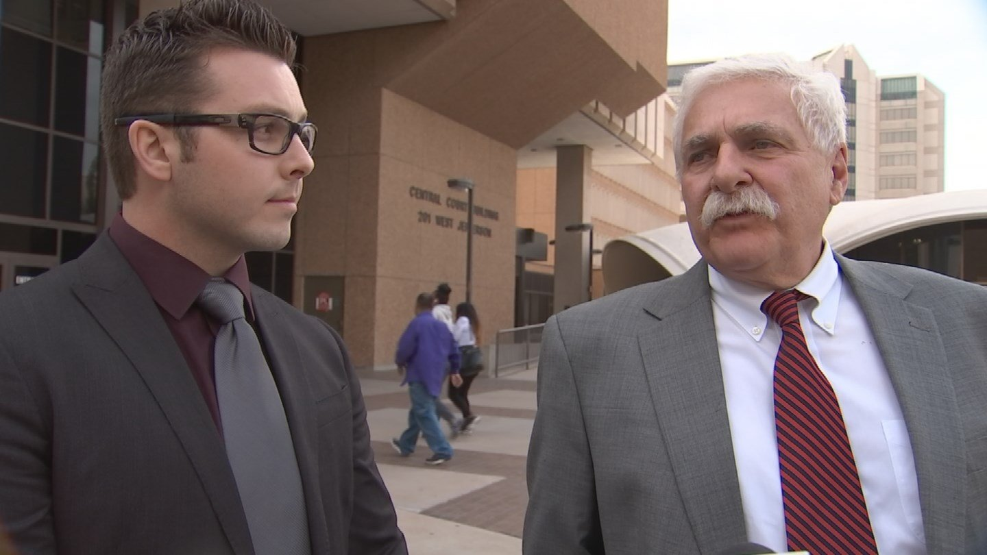Mitch Brailsford and his lawyer, Michael Piccarreta (Source: KPHO/KTVK)