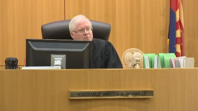 Judge Warren Granville scheduled a new hearing for Jan. 13. (Source: KPHO/KTVK)