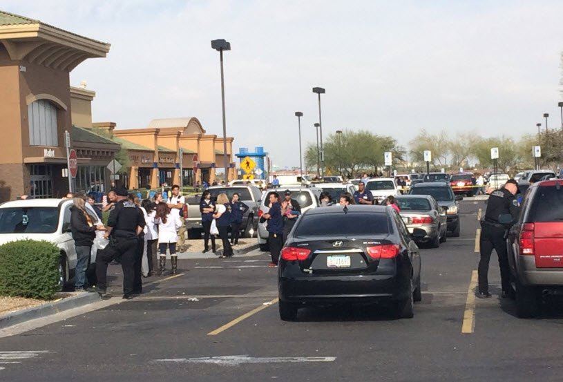 Arizona police search for gunman who shot 2 inside Wal-Mart