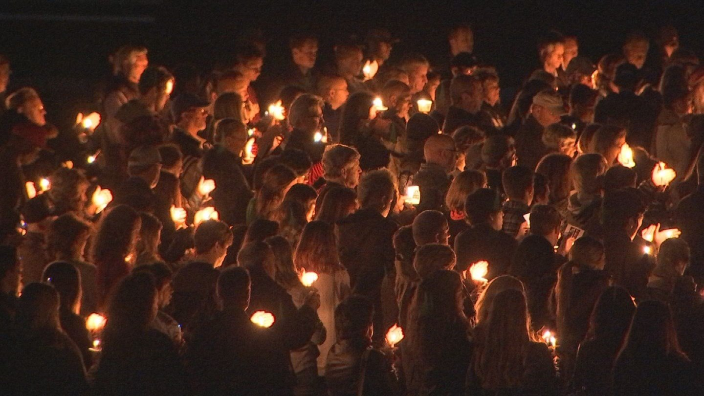 The Fountain Hills community came together to remember Jacob DeGroote. (Source: KPHO/KTVK)