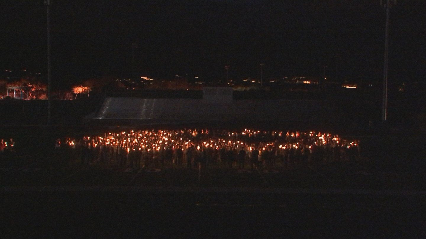 Friends of the family organized a memorial service at the local high school. (Source: KPHO/KTVK)