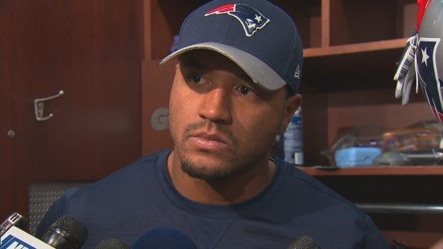 New minted Patriots player Michael Floyd addressed the media for the first time since his DUI arrest. (Source: CBS)