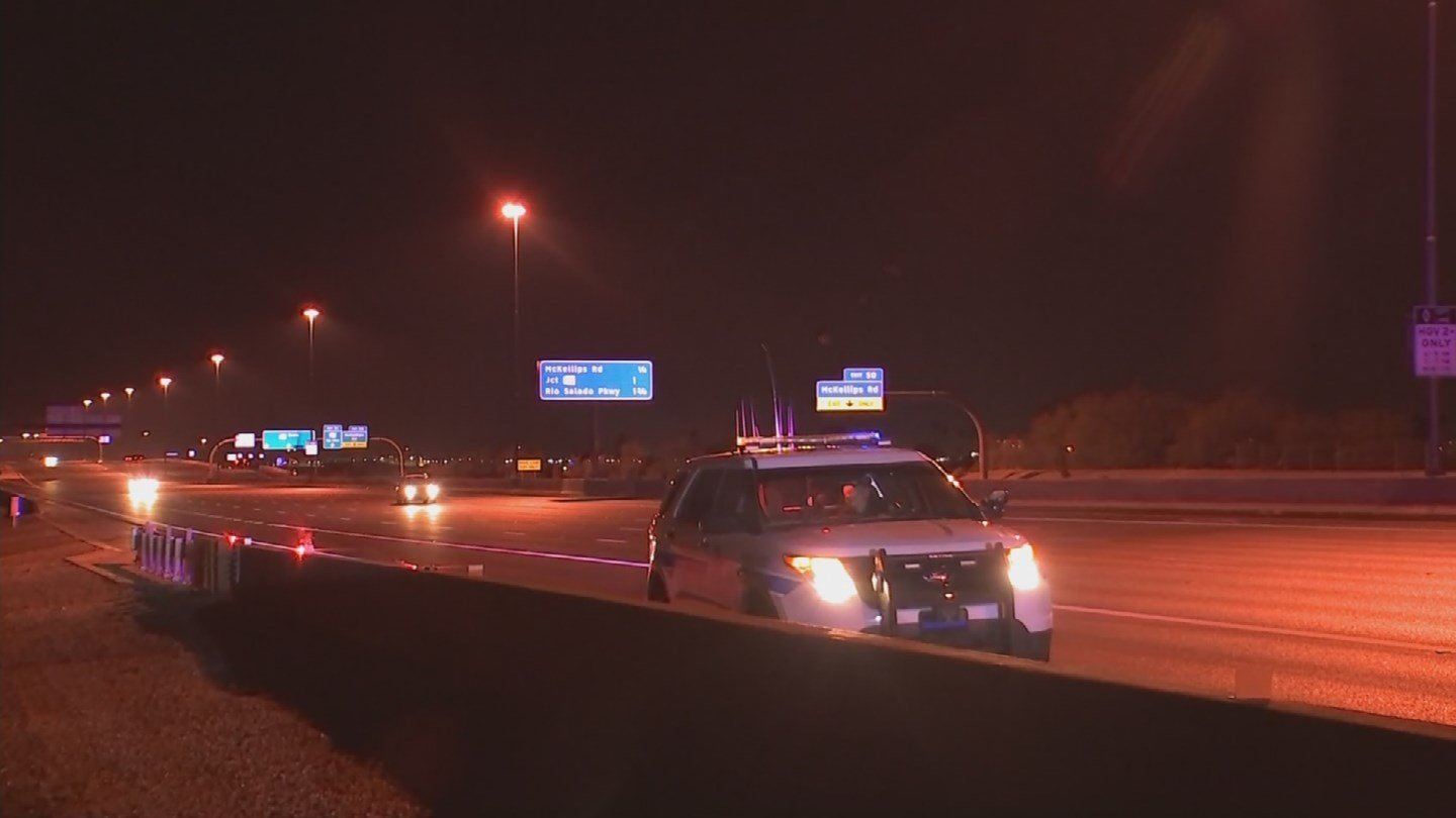No one was seriously hurt in the wrong-way incident. (Source: KPHO/KTVK)