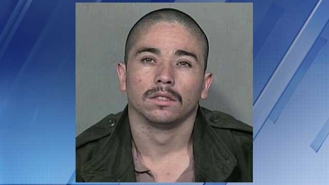 Prior booking photo of Oligario B. Renteria (Source: Maricopa County Sheriff's Office)