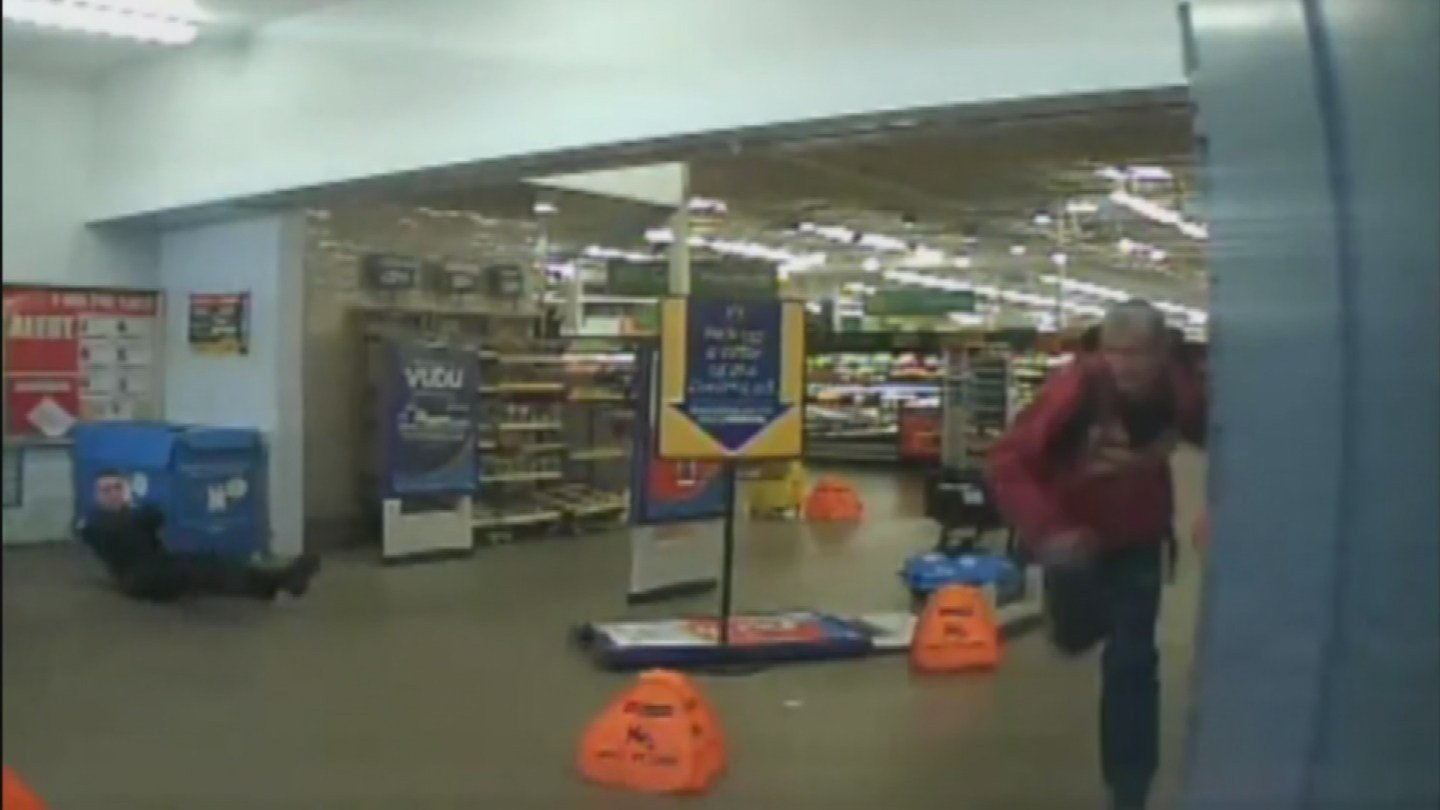 New footage shows Walmart shooting of two Arizona officers