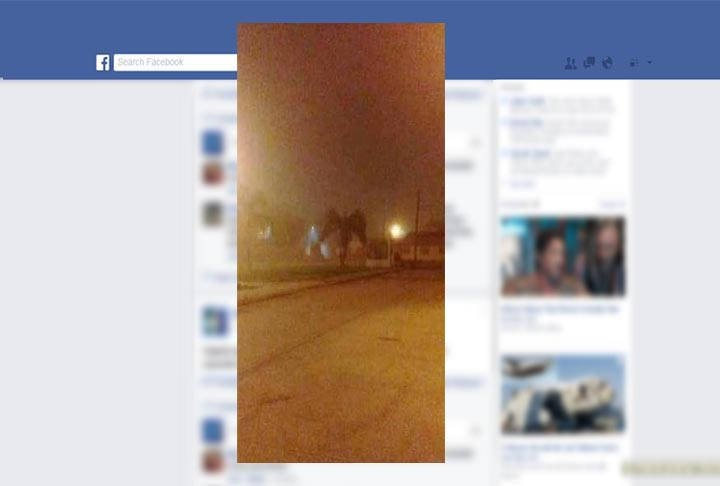 What is that?! Facebook 'demon' photo goes viral