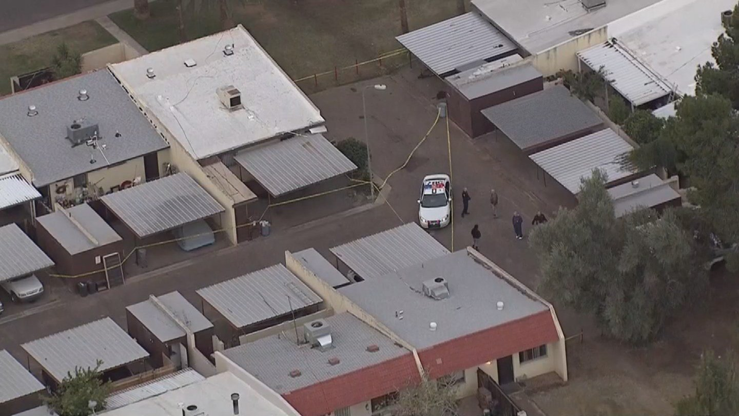 No officers were hurt in the shooting. (Source: KPHO/KTVK)