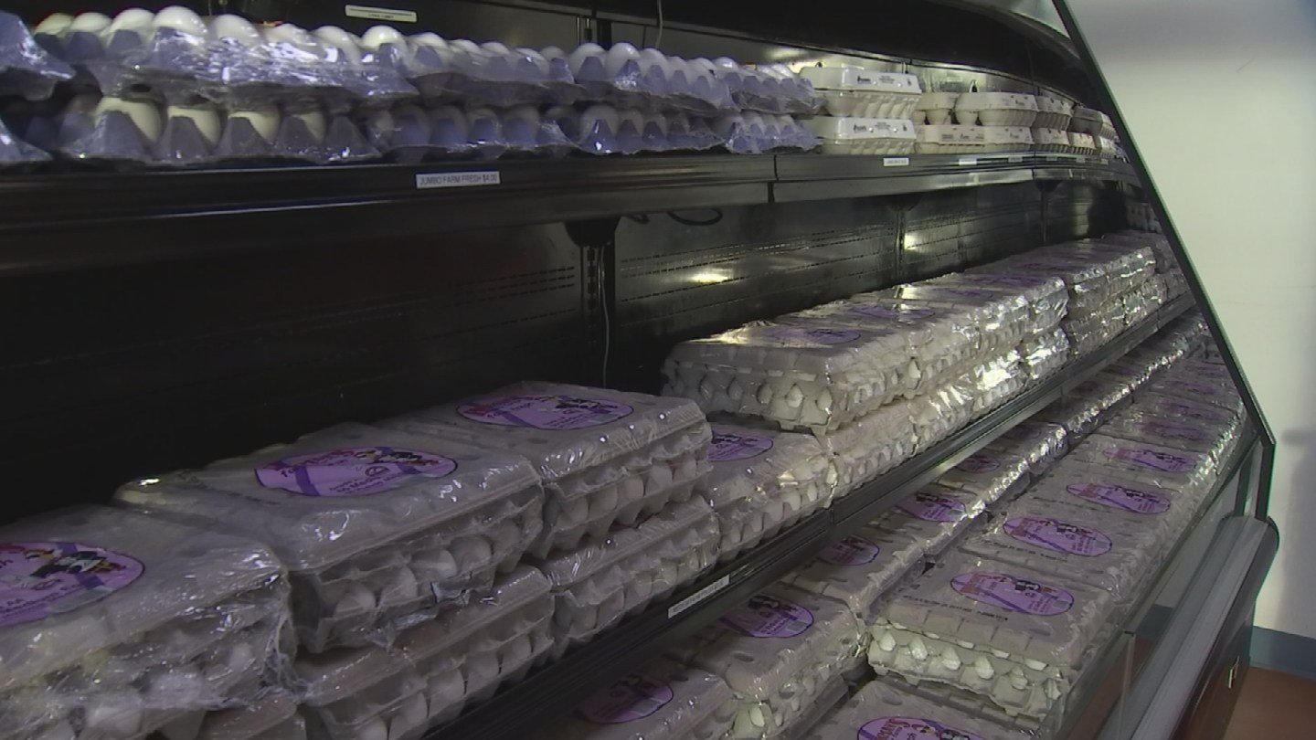 Hickman's Family Farms is supplying South Korea with millions of eggs. (Source: KPHO/KTVK)