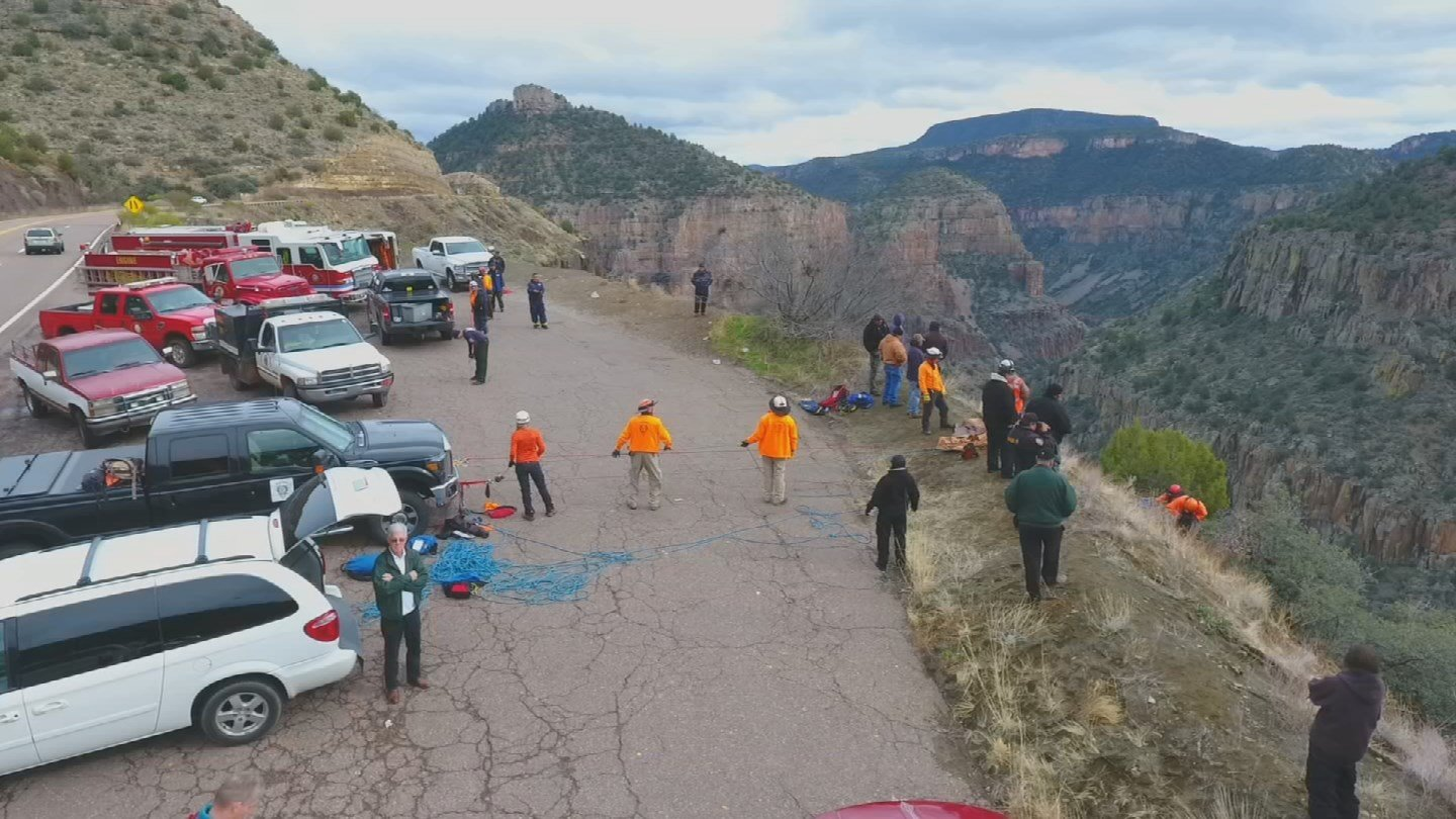 Tonto Rim Search and Rescue plans to buy more drones to help with their missions. (Source: KPHO/KTVK)