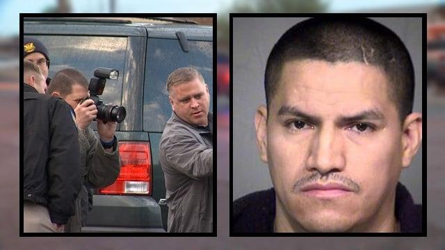 Elvin Mejia, 35, was arrested. (Source: KPHO/KTVK)