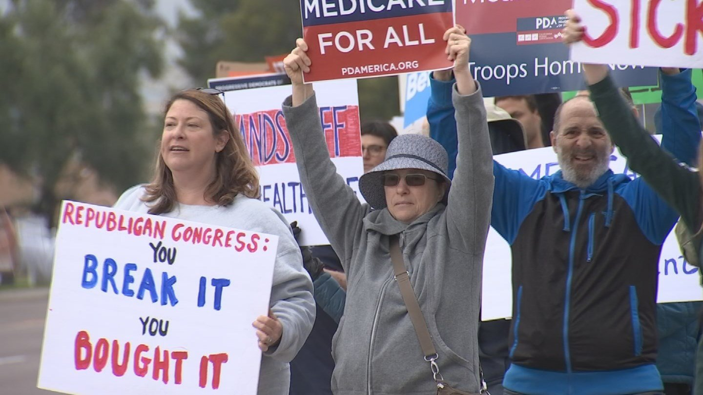 Affordable Care Act Supporters Resist Repeal