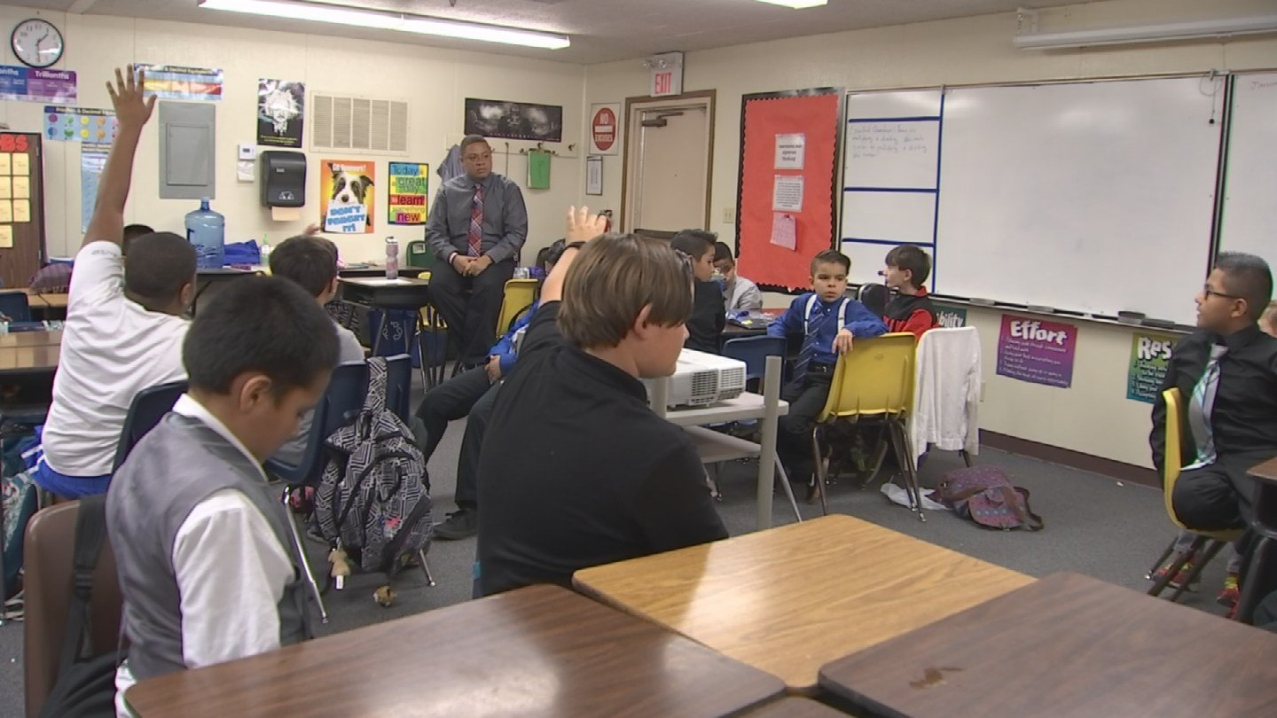There's a new type of club at Anderson Elementary School called Next Generation of Gentlemen. (Source: 3TV/CBS 5)