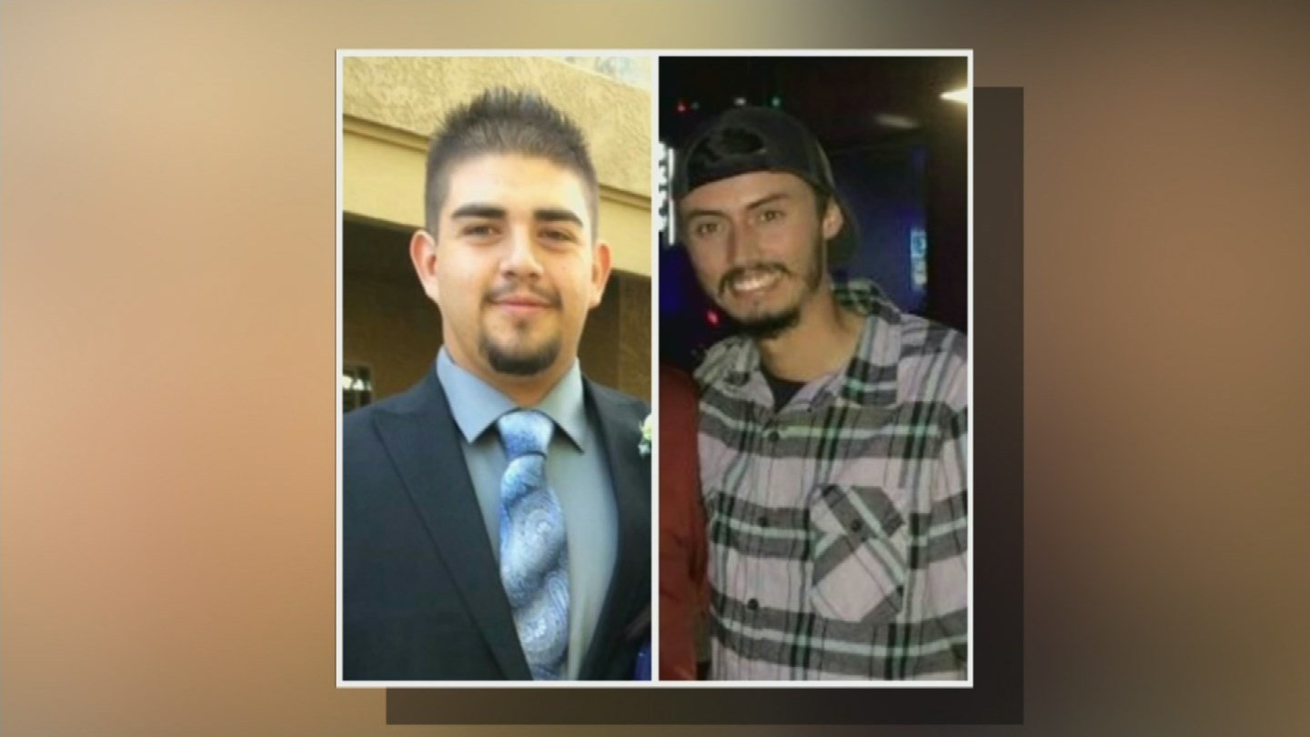 Brandon Gauna and Kyle Ruiz were both critically hurt in a wrong-way crash in the I-10. (Source: 3TV/CBS 5)