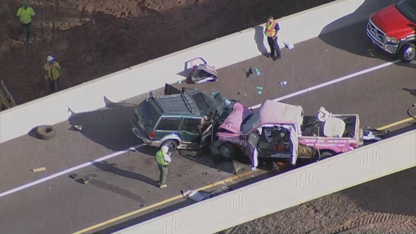 The wrong-way crash killed two other people in December. (Source: 3TV/CBS 5)