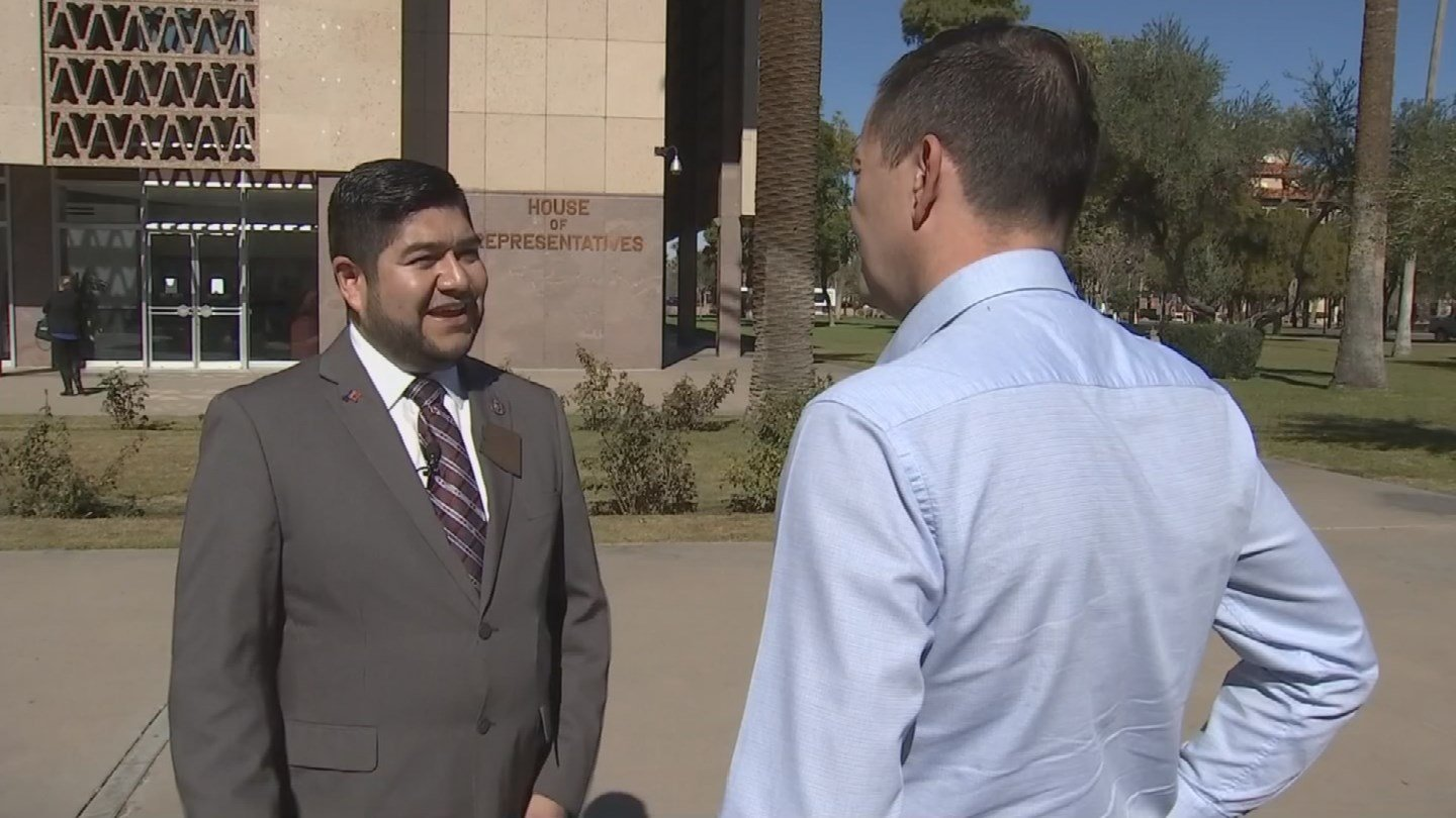 Rep. Jesus Rubalcava wants elementary students to have at least 50 minutes of recess time per day. (Source: 3TV/CBS 5)