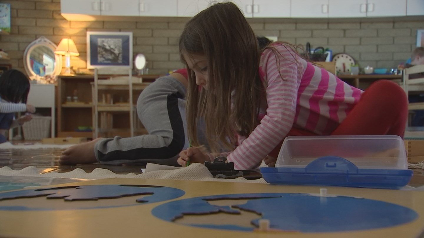 Researchers also found these classrooms tended to be calmer and quieter, and student behavior generally improved. (Source: 3TV/CBS 5)