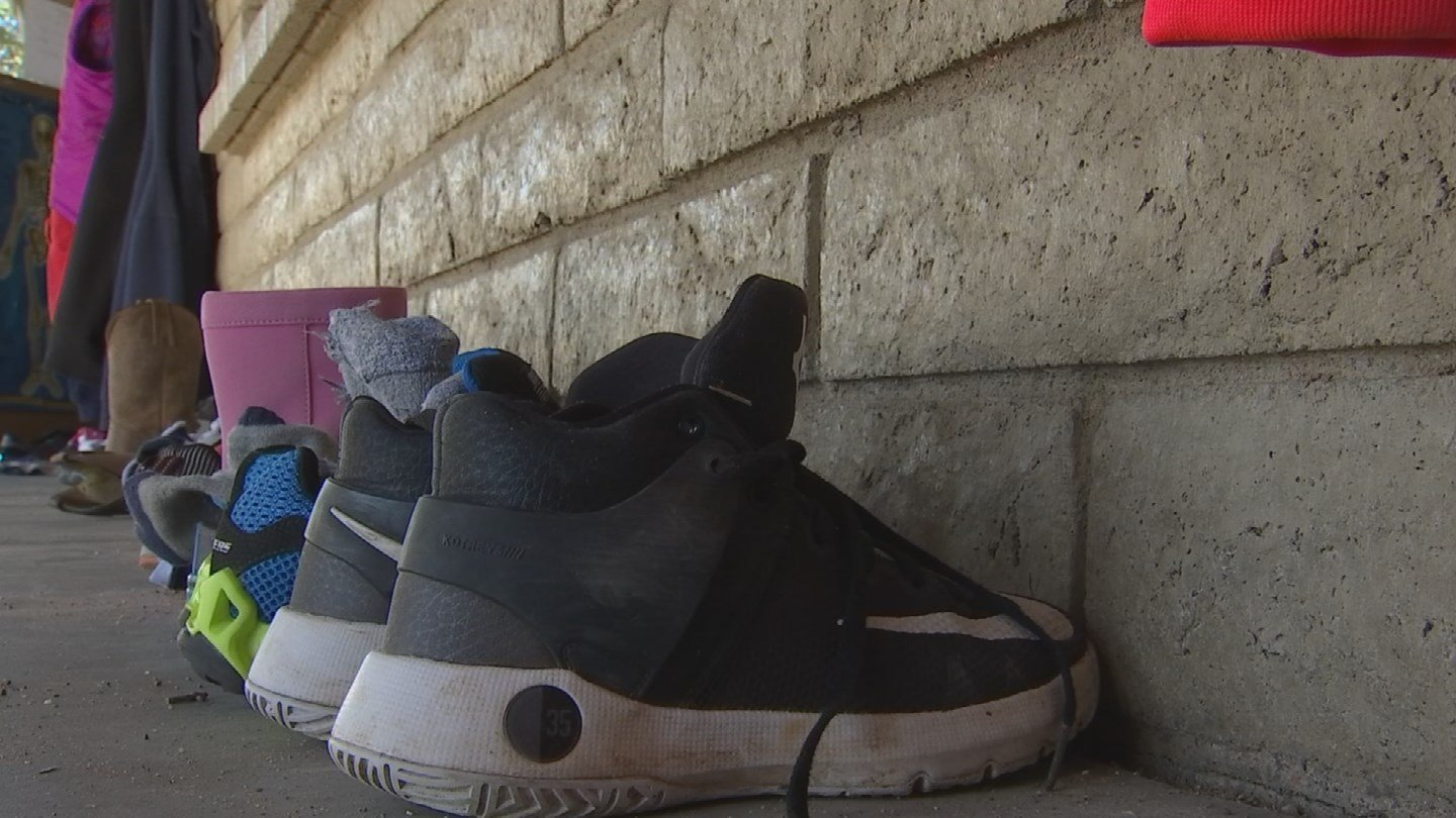 A 2013 study found ditching shoes cut classroom cleaning costs by an average of 27.5 percent. (Source: 3TV/CBS 5)