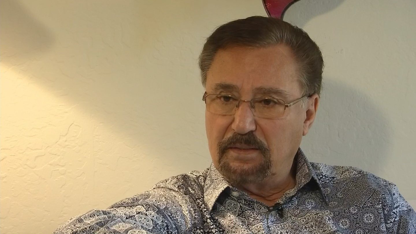 Steve Arkawi, who immigrated from Syria 50 years ago, says he plans to fight the Arizona proposal. (Source: 3TV/CBS 5)