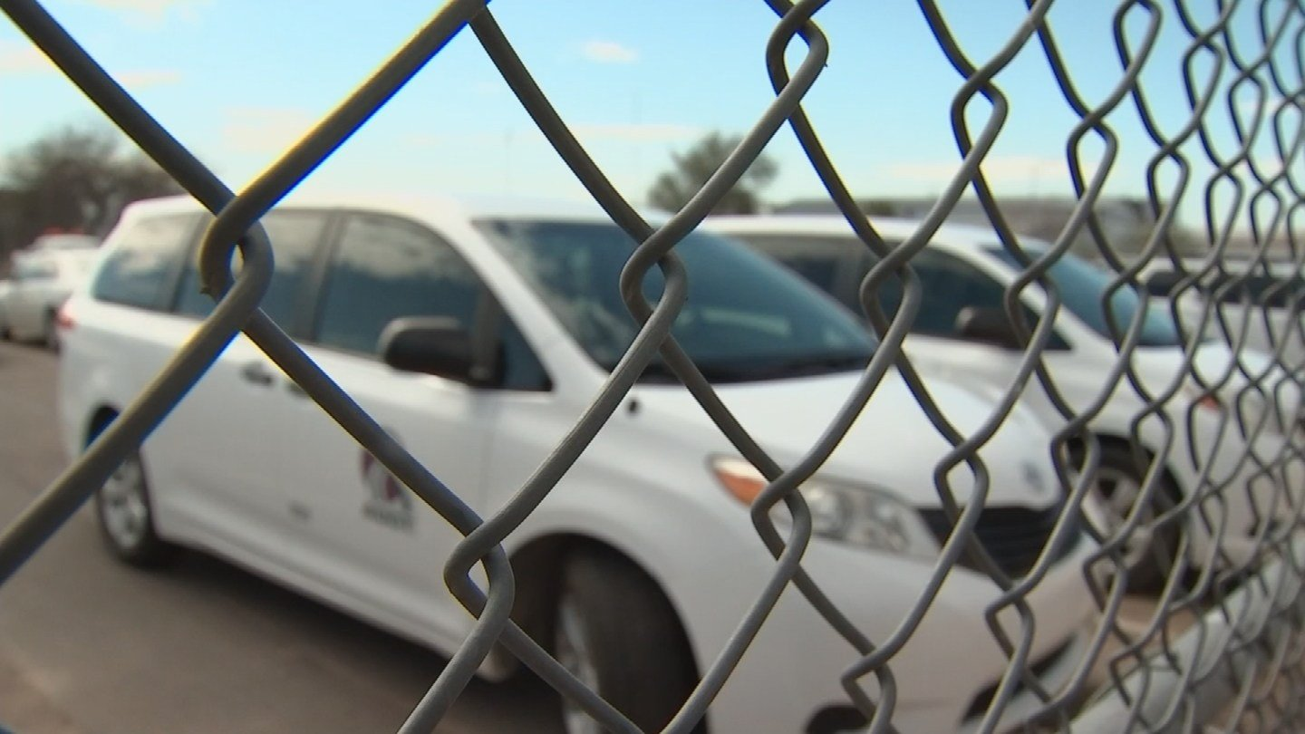 Some say the shift to ride-sharing companies would mean job cuts. (Source: 3TV/CBS 5)